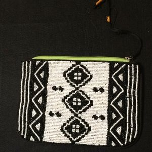 Cotton On Beaded Clutch